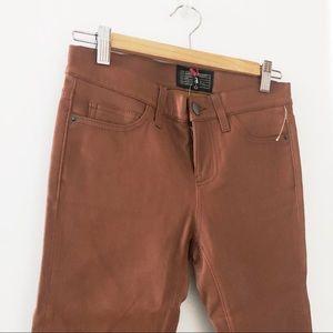Current/Elliott Pants - Current Elliott Ankle Skinny Leather Pants 26 NWT